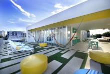 vintro hotel and kitchen