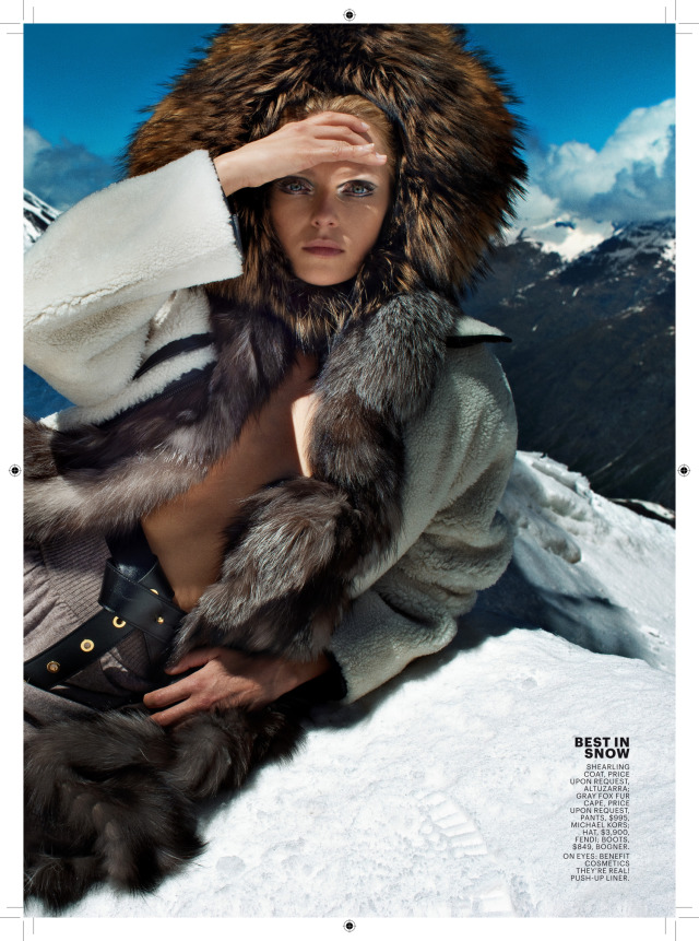 mp-production for Marie Claire, USA   Location: Zermatt, Switzerland gallery