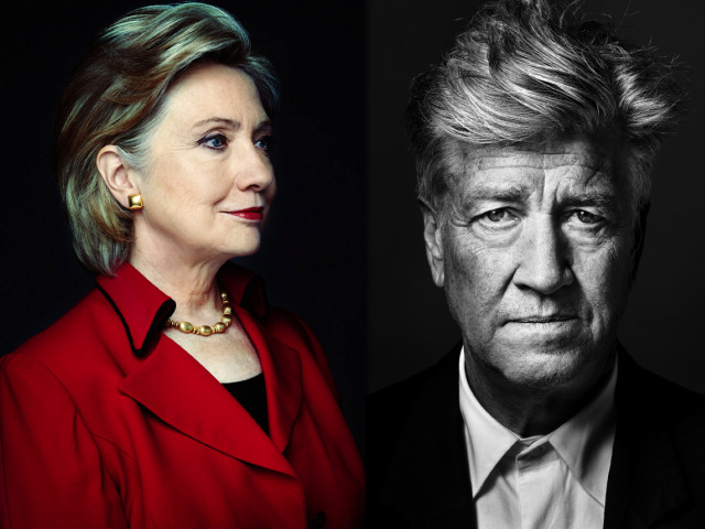 Photographer: Marco Grob - Portraits of Hillary Clinton & David Lynch  gallery