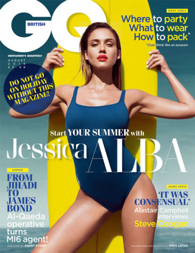 Jessica Alba for GQ, by Greg Lotus gallery