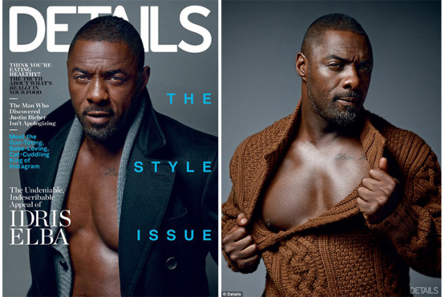 Idris Elba for Details Magazine gallery