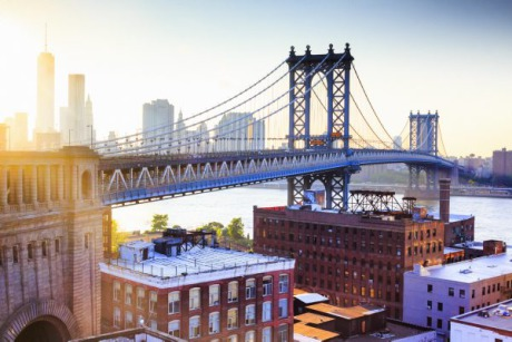 Location: New York City, Manhattan Bridge, East River gallery